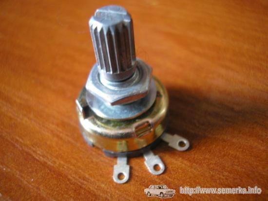 Берем переменный резистор