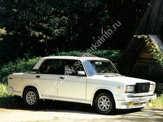 Konela Lada 2107 Turbo или турбированная ВАЗ-2107 в «стоке»