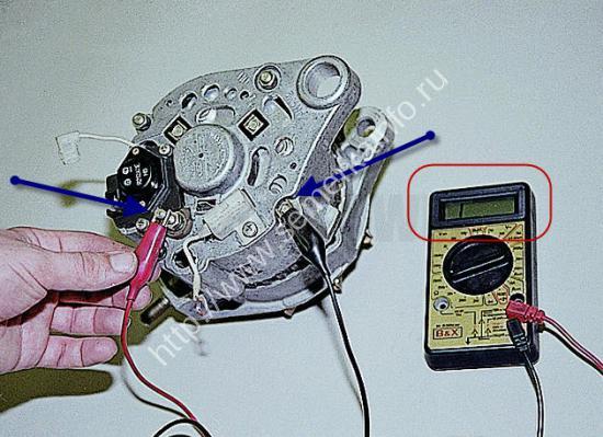 Как проверить пробита или нет обмотка на генераторе ВАЗ?