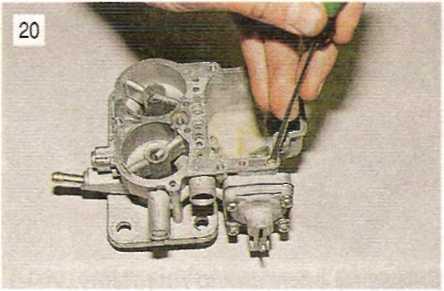 Разборка и ремонт корпуса карбюратора