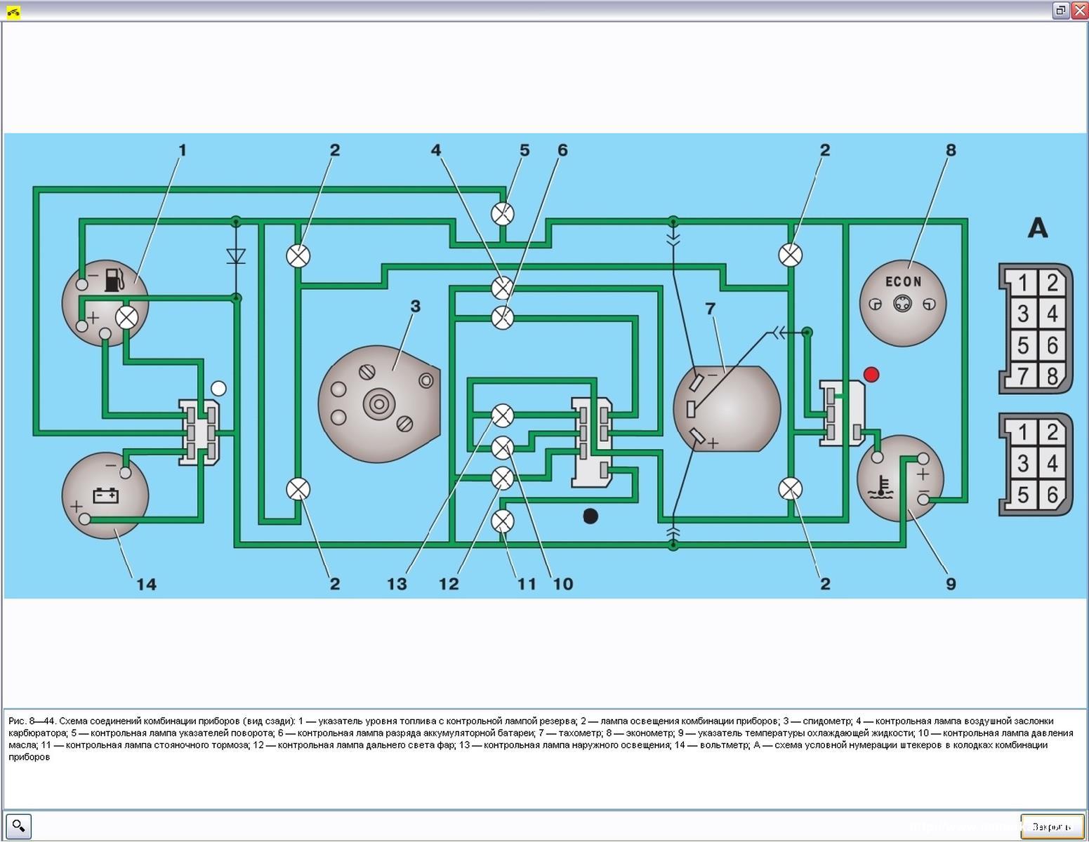 Схема подключения тахометра автомобиля